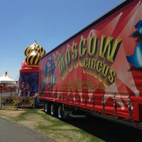 Photo taken at Great Moscow Circus by Matt G. on 1/6/2013