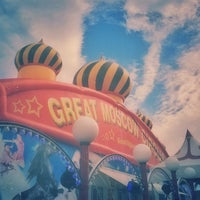 Photo taken at Great Moscow Circus by Matt G. on 1/3/2013
