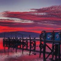 Photo taken at Cornelian Bay by Matt G. on 7/4/2014