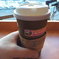 Photo taken at Dunkin Donuts by Aleksandr B. on 2/17/2014
