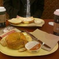 Photo taken at Saint Louis Bread Co. by Sara P. on 11/24/2012
