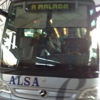 Photo taken at Málaga Bus Station by Farmacia E. on 7/6/2013