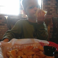 Photo taken at Fuddruckers by Tiffany H. on 1/27/2013