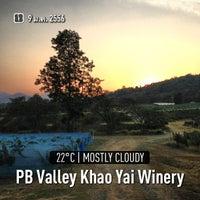 Photo taken at PB Valley Khao Yai Winery by Prayut P. on 1/9/2013