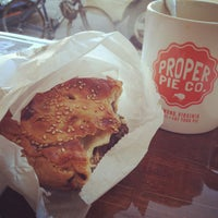 Photo taken at Proper Pie Co. by Mary D. on 4/6/2013