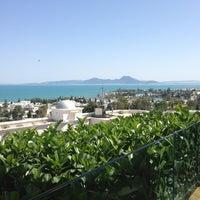 Photo taken at Villa Didon Hotel Carthage by Duygu Z. on 6/8/2013