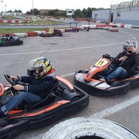 Photo taken at Karting Club Vendrell by Julia P. on 3/24/2014