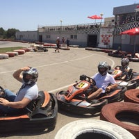 Photo taken at Karting Club Vendrell by Julia P. on 6/8/2014