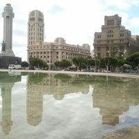 Foto tomada en Plaza de España por María Rosa B. el 9/25/2012