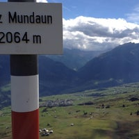Photo taken at Piz Mundaun by Matthias M. on 10/3/2012