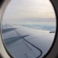 Photo taken at KLM Royal Dutch Airlines Flight KL 1826 by Kendrick L. on 10/12/2014