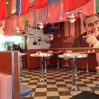 Photo taken at Советский Diner by Olenka B. on 4/20/2013