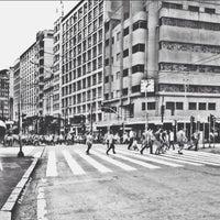 Photo taken at Banca do Viaduto do Chá by Flavio A. on 1/16/2014
