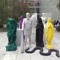 Photo taken at MoMA Sculpture Garden by Andrey M. on 11/2/2012