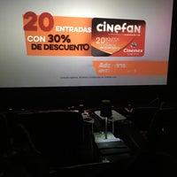 Photo taken at Cinemex Platino by Oscar on 4/15/2017
