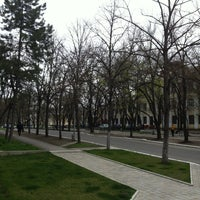 Photo taken at Бульвар Гагарина by Igor M. on 4/15/2013