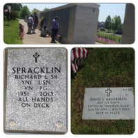 Photo taken at Albert G. Horton Jr. Memorial Veterans Cemetery by Richard G. on 5/26/2014