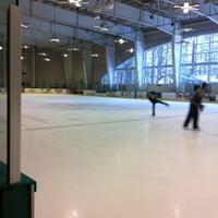 Photo taken at South Lake Tahoe Ice Arena by Ellie G. on 10/25/2012