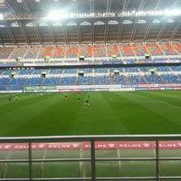Photo taken at Daejeon Worldcup Stadium by Byung Kook K. on 7/5/2015
