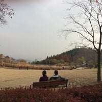 Photo taken at 영인산 자연휴양림 by Charlie K. on 11/22/2015