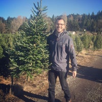 Photo taken at McMurtrey's Red-Wood Christmas Tree Farm by Meredith R. on 11/28/2015