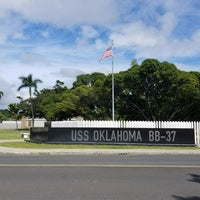 Photo taken at USS Oklahoma Memorial by Samantha B. on 11/10/2017