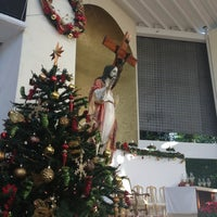 Photo taken at Catedral de Cancún by Romy K. on 12/25/2012