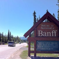 Photo taken at Town of Banff by Evan K. on 7/16/2013