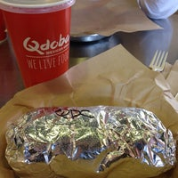 Photo taken at Qdoba Mexican Grill by Don M. on 2/14/2014