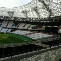 Photo taken at London Stadium by Eugen W. on 10/17/2016