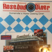 Photo taken at Rosebud Diner by Lili A. on 5/24/2013