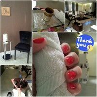 Photo taken at Bliss, The Spa by Halima A. on 1/22/2014