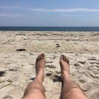 Photo taken at Fair Harbor Beach (Walnut Walk) by jeffrey a. on 7/15/2017