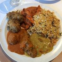Photo taken at Mezbaan Bar & Indian Cuisine by jeffrey a. on 5/28/2015