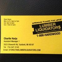 Photo taken at Lumber Liquidators, Inc. by Mike M. on 4/26/2013