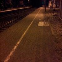 Photo taken at Bahnhof Großburgwedel by Olaf B. on 12/19/2012