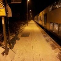 Photo taken at Bahnhof Großburgwedel by Olaf B. on 12/21/2012