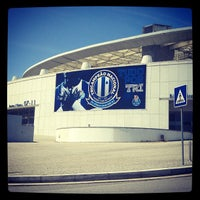 Photo taken at Estádio do Dragão by Pedro R. on 5/22/2013