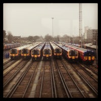 Photo taken at Clapham Junction Railway Station (CLJ) by Pedro R. on 4/4/2013