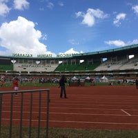 Photo taken at The Safaricom Stadium by ßoŋŋię Ø. on 2/27/2016