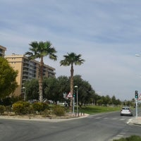 Photo taken at Avinguda Mestre Jose Garberí by Vero C. on 3/19/2014