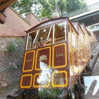 Photo taken at Buda Castle Hill Funicular by Рина К. on 7/16/2013