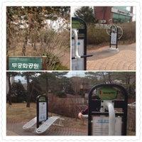 Photo taken at 무궁화공원 by Jerald K. on 3/17/2013