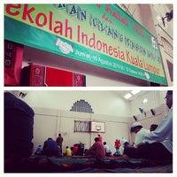 Photo taken at Sekolah Indonesia Kuala Lumpur by Syaaban A. on 8/15/2014