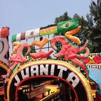 Photo taken at Xochimilco by Perla C. on 5/5/2013