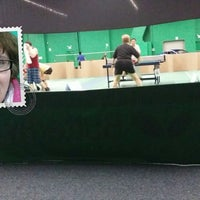 Photo taken at ClearOne Badminton Club by Juliana M. on 11/12/2013