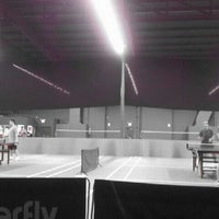 Photo taken at ClearOne Badminton Club by Juliana M. on 5/18/2013