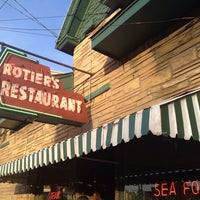 Photo taken at Rotier's Restaurant by Joe T. on 4/17/2014