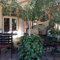 Photo taken at Cafe Flora by William C. on 7/23/2013