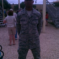 Photo taken at Lackland Air Force Base by LaTasha K. on 7/18/2013